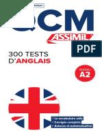 Assimil QCM 300 TESTS D'ANGLAIS _extrait