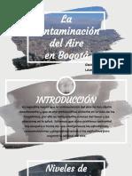 Contaminación en Bogotá