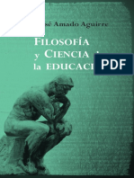 Filosofia y Ciencia de La Educa - Aguirre, Jose Amado;