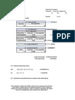 Cálculo para escada flutuante em balanço