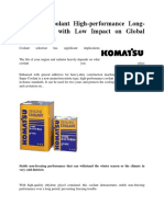 250601671-Komatsu-Coolant-High-performance-Long-life-Coolant-With-Low-Impact-on-Global-Environment.docx