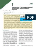 Comparative Developmental Toxicity of New Aromatic Halogenated DBPs in a Chlorinated Saline Sewage Effluent to the Marine Polychaete Platynereis Dumerilii