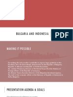 Bulgaria and Indonesia Business