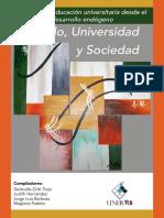 Estado Universidad y Sociedad