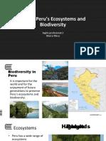 14 Biodiversity Peru