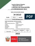 Registro Oficial de Evaluación