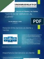 Servicio Al Cliente y Las Ventas