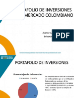 Portafolio de Inversiones en El Mercado Colombiano