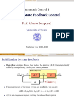 state feed control