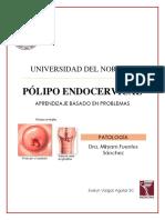 POLIPOS ENDOCERVICALES