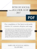 GROWTH OF SOCIAL MEDIA USER AS 0F 2017.pptx