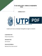 Clasificacion de Las Unidades Hidrográficas Según Pfafstetter