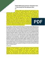 Digital Elevation Model Differencing and Error_Sensing