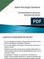Clase Determinantes Sociales y Equidad en Salud