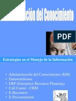 Clase 09 - Administacion Del Conocimiento