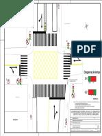 Projeto de rotatória semaforizada no município de Caraúbas - RN.