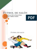 Futbol de salón Manuel.pptx