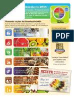 las recetas de la dieta del metabolismo acelerado (colección vital) hoja cheet