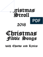 Christmas Stroll 2018 Tunebook