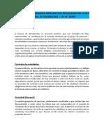 Principales Sociedades Mercantiles Reguladas en La Ley General de Sociedades