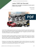Desmontagem Do Motor VHCE Da Chevrolet - Revista O Mecânico
