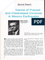Performance of Precast and Prestressed Concrete in Mexico Earthquake