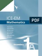 ICE-EM Mathematics Sec 1A