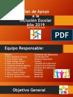 Presentación Plan de Apoyo a La Inclusión