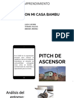 Presentación PITCH FUNDACION MI CASA BAMBU