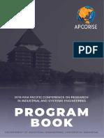 Apcorise Program Book 2019