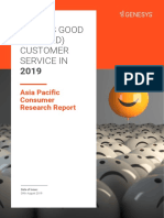 What is Good and Bad Customer Service 2019 Report by Genesys