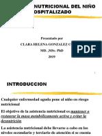 2009ATENCION NIÑO HOSPITALIZADO.