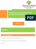 Healthspring's Integrated Occupational Health & Wellness Solution_CGPL_Mar'19
