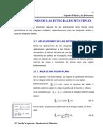 Aplicaciones de integrales Múltiples