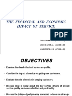 Service Quality as Profit Strategy