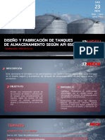 Temario Seminario Presencial Diseño de Tanques API 650