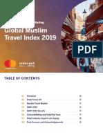 Global Muslim Travel Index 2019 by Mastercards