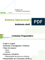SO Livre - Ambiente Shell