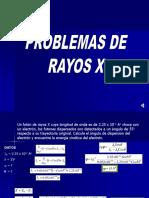 Problemas de Rayos X