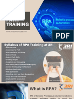 Rpa Training in Pune With Placement