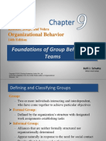 Lecture 31-32 Group Behavior & Teams