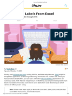 How to Print Labels from Excel.pdf
