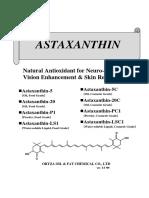 Astaxanthin 2.5HN