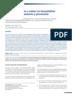 Infección Asociada a Catéter en Hemodiálisis Diagnóstico, Tratamiento y Prevención
