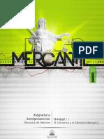 UNIDAD I Derecho Mercantil Urbe