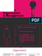 Nature of Organization Management