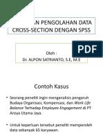 3. Regresi Data Cross Section Dgn Spss