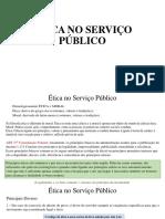 etica no serviço público
