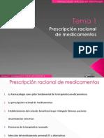 Tema 1.Prescripción Racional de Medicamentos