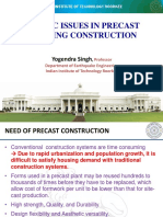 Issues in precast